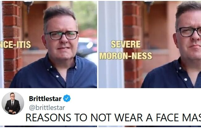 """""""Reasons not to wear a mask"""" is the funniest fake PSA you'll see anytime soon"""